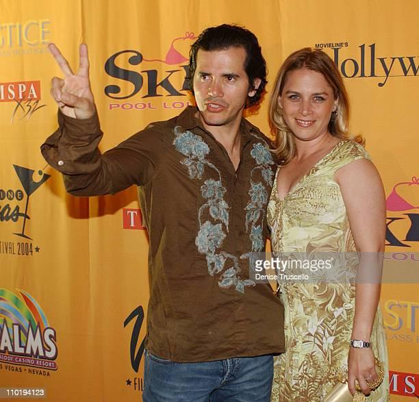 John Leguizamo and Justine Leguizamo during CineVegas 2004 Movieline's Hollywood Life and The Palms Casino Resort Host the Closing Gala of CineVegas...