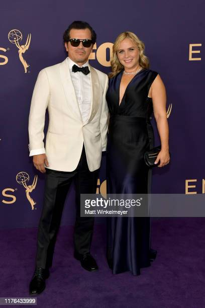 John Leguizamo and Justine Maurer attend the 71st Emmy Awards at Microsoft Theater on September 22 2019 in Los Angeles California
