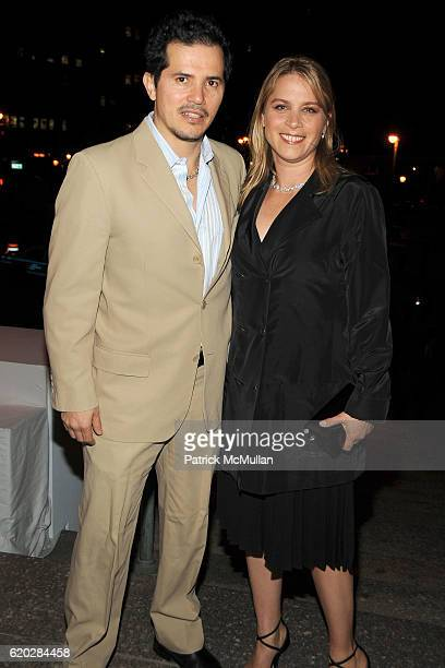 John Leguizamo and Justine Maurer attend VANITY FAIR Tribeca Film Festival Party hosted by GRAYDON CARTER ROBERT DE NIRO and RONALD PERELMAN at The...