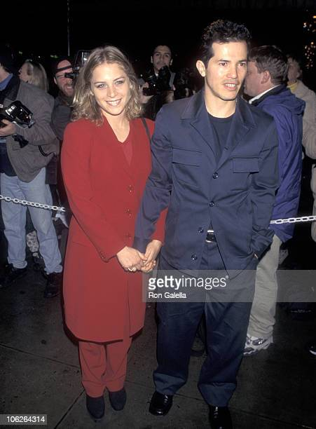 John Leguizamo and Justine Maurer during Anastasia New York City Premiere at Metropolitan Opera House at Lincoln Center in New York City New York...