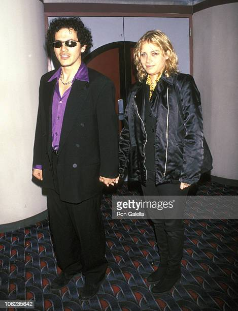 John Leguizamo and Justine Maurer during Screening of A Brother's Kiss at Sony 19th Street East Theater in New York City New York United States