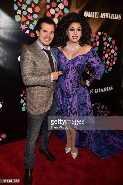 John Leguizamo and Pixie Aventura attend the 63rd Annual Obie Awards at Terminal 5 on May 21 2018 in New York City