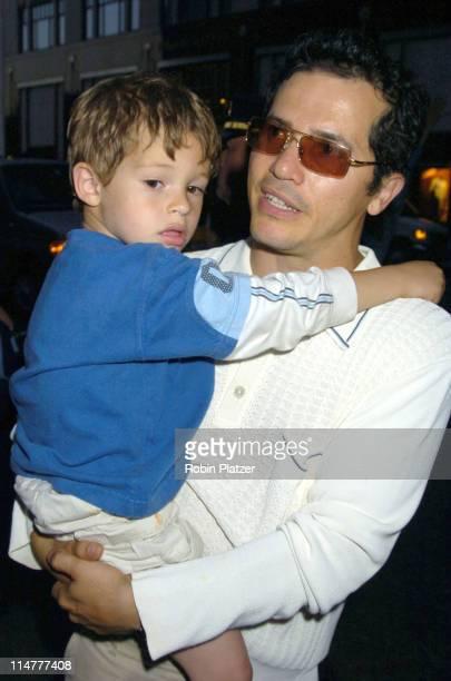 "John Leguizamo and son Lucas during ""Lotsa de Casha"" by Madonna Book Launch Party at Bergdorf-Goodman in New York - June 7, 2005 - Outside Arrivals..."