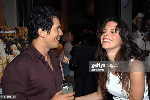 John Leguizamo and Vanessa Ferlito during HBO Undefeated Hollywood Premiere at Paramount Pictures Theater in Hollywood California United States