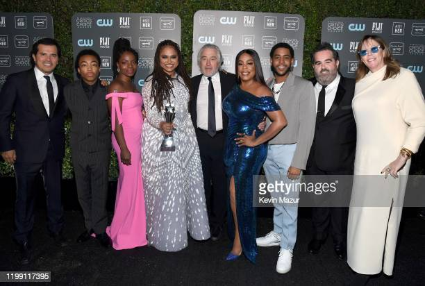 John Leguizamo Asante Blackk Marsha Stephanie Blake Ava DuVernay Robert De Niro Niecy Nash Jharrel Jerome Berry Welsh and Jane Rosenthal winners of...
