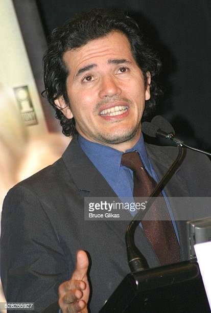 John Leguizamo during 58th Annual Tony Awards Nominee Announcements at The Hudson Theater in New York City New York United States
