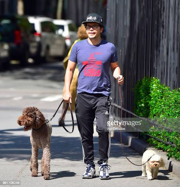 John Leguizamo is seen in the West Village on May 21 2018 in New York City