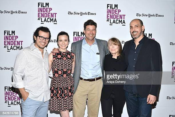 John Leguizamo Linda Cardellini Kyle Chandler Sissy Spacek and Glenn Kessler attend the Film Independent at LACMA Bloodline screening and QA at Bing...