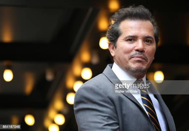 John Leguizamo unveils his Frida KahloInspired Broadway Marquee for his new solo show 'Latin History for Morons' at Studio 54 on September 26 2017 in...