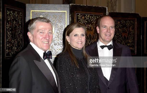 John Lehman Ann Reinking and HSH Prince Albert of Monaco