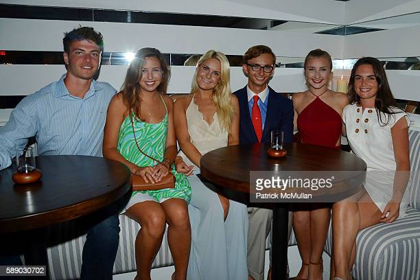 John Lemon Allegra Rumbough GreyAlexandra O'Reilly Cole Rumbough Kiera Rumbough and Harper Coyer attend Oreya Salutes Julian Niccolini of The Four...