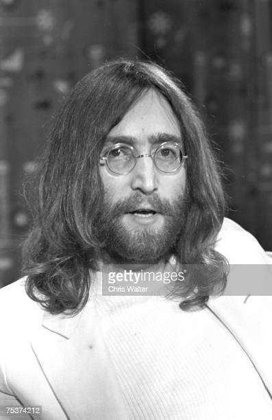 John Lennon 1969 London Heathrow Airport Chris Walter
