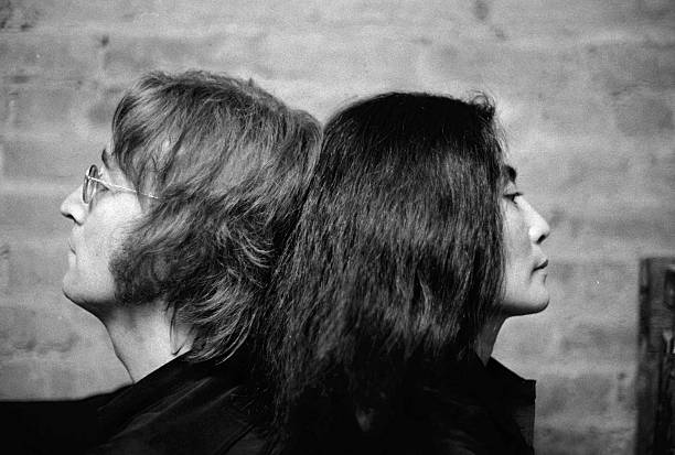 John Lennon And Yoko Ono At Their Bank St. Home In The West  Wall Art