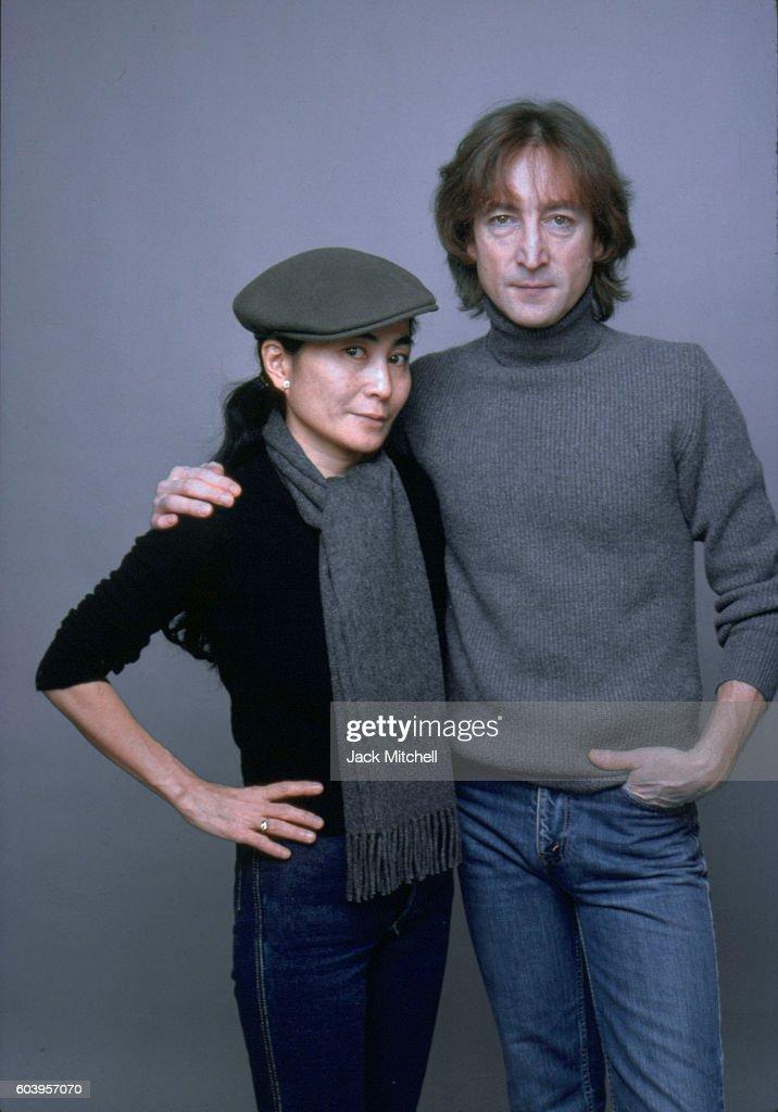 John Lennon And Yoko Ono : News Photo