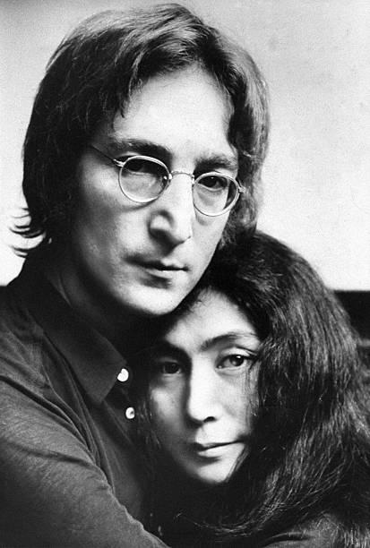 John Lennon And Yoko Ono. Wall Art