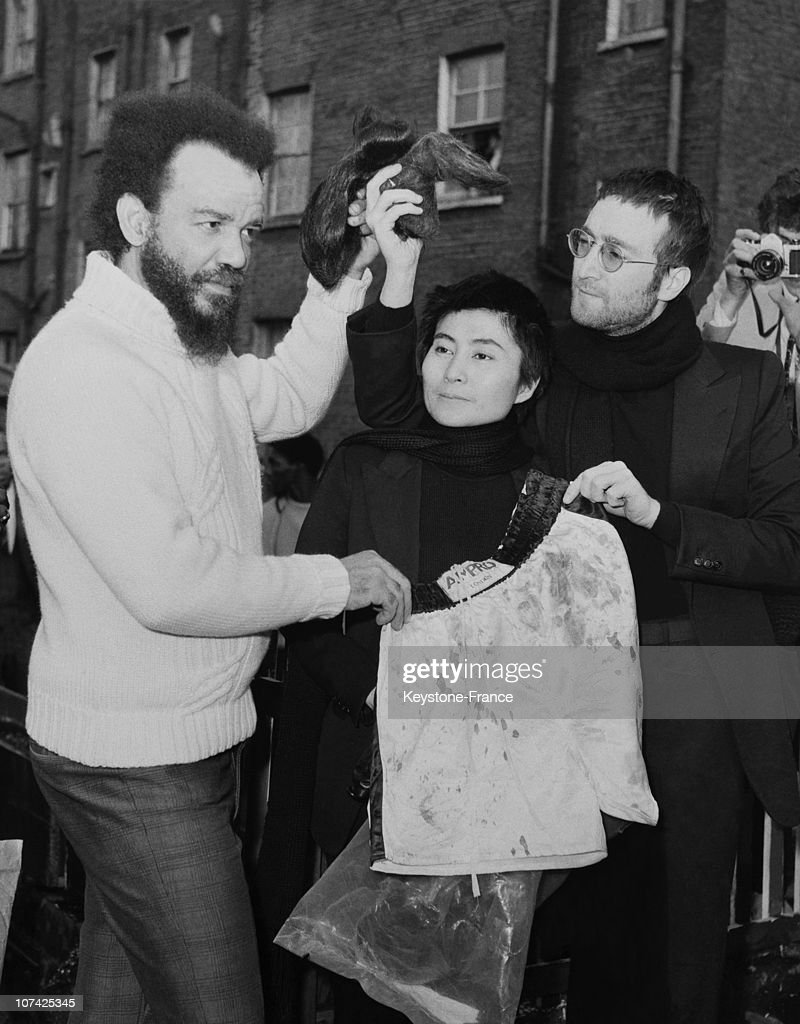 John Lennon And Yoko Ono Selling Shorts And Hairs To Be Auctionned News Photo Getty Images