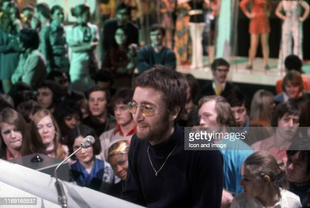 John Lennon becomes the first of The Beatles postbreakup to play on Top of the Pops where he performed his single Instant Karma on February 11 in...