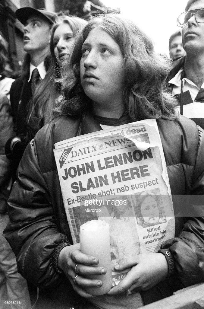 John Lennon Murder : News Photo