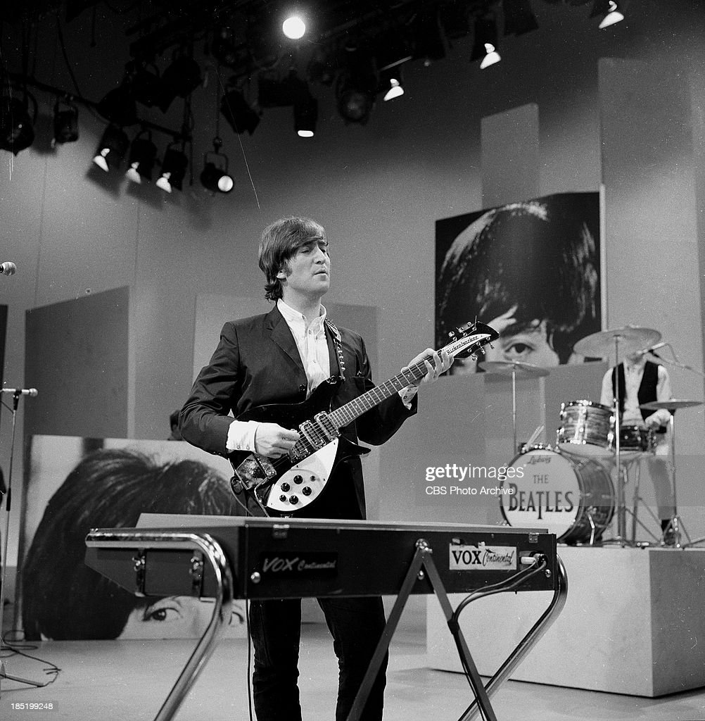 John Lennon Of The Beatles During Rehearsal For The Third Appearance News Photo Getty Images