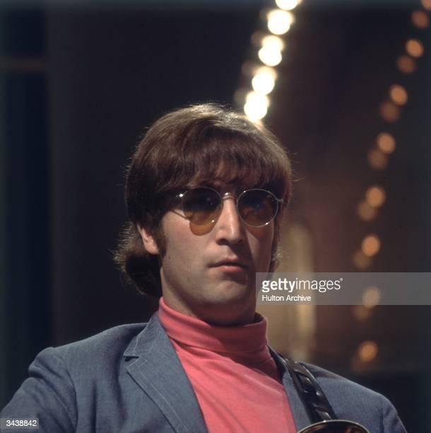 John Lennon of the Beatles.