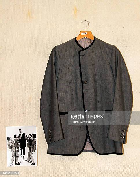 John Lennon's jacket displayed at a press preview for the Gotta Have Rock and Roll online auction at the Gotta Have It store on July 25 2012 in New...