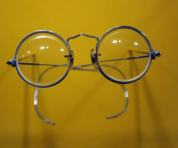 John Lennons Round Lens Windsor Spectacles On Display In A New Exhibit At