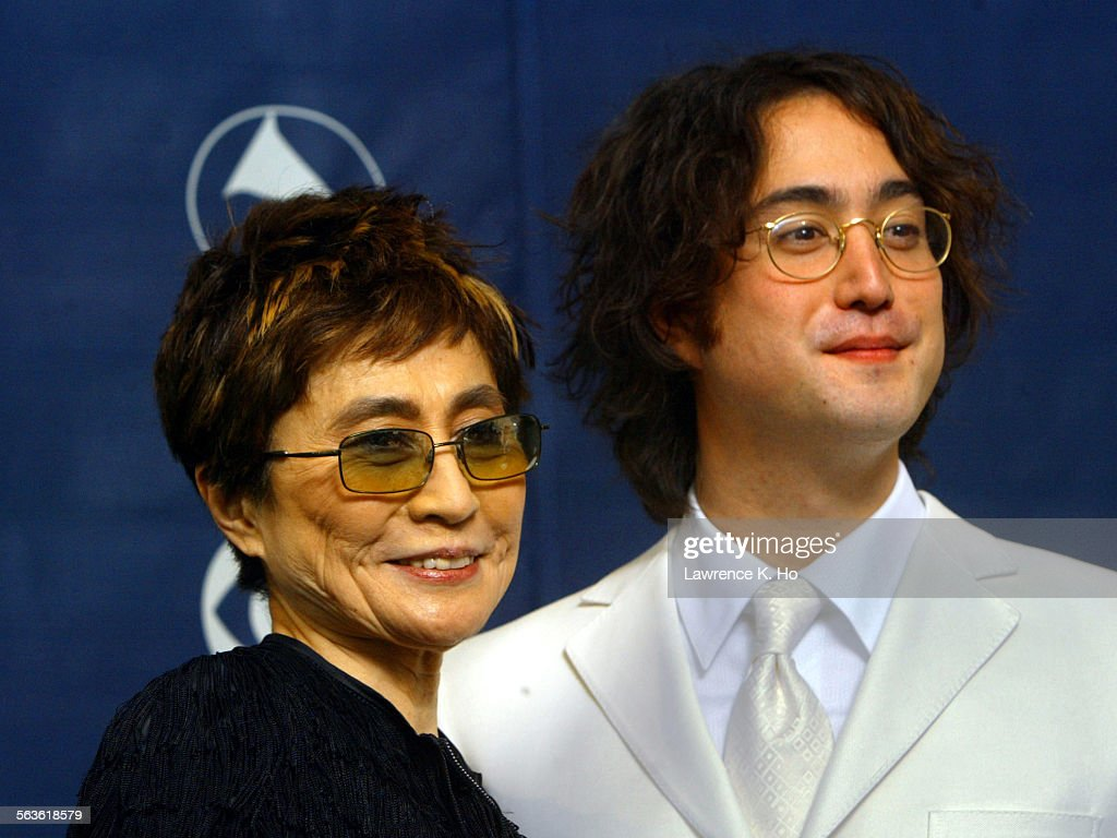 46TH ANNUAL GRAMMY AWARDS John Lennons Widow Yoko Ono And