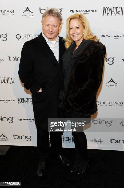 John Letham and Susan Higgins arrive at the Los Angeles Confidential Magazine celebrates Jesse Eisenberg at Awards Celebration presented by Bing...