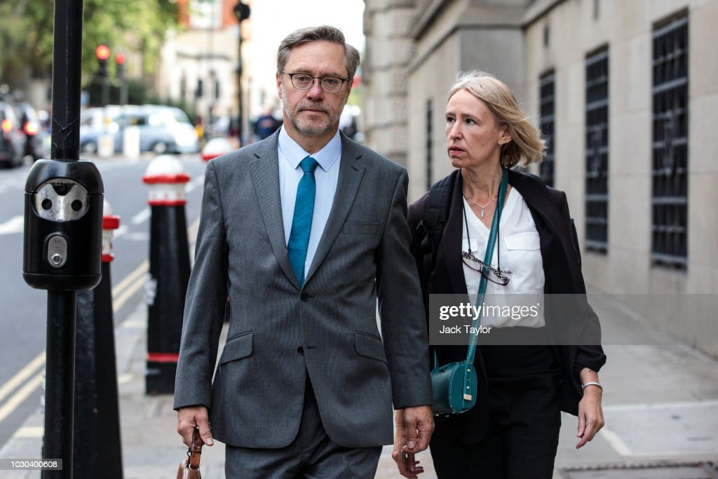 Parents Of 'Jihadi Jack' Appear At The Old Bailey : News Photo