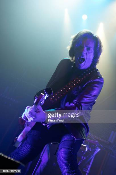 John Leven of Europe performs at the Olympia Theatre on September 12 2018 in Dublin Ireland