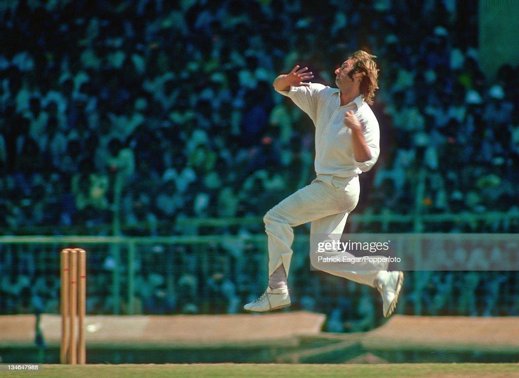 India v England, 3rd Test, Madras, Jan 1976-77 : News Photo