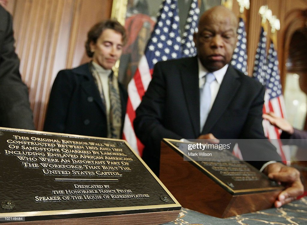 New Plaques Recognize Slaves' Contribution To Constructing U.S. Capitol
