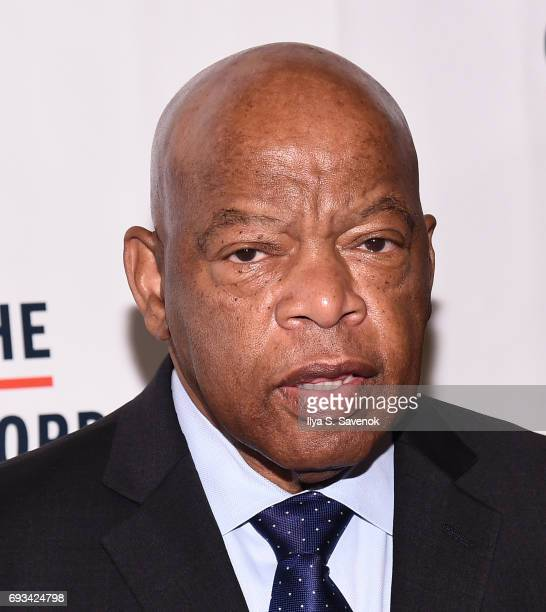 John Lewis attends the 2017 Gordon Parks Foundation Awards Gala at Cipriani 42nd Street on June 6 2017 in New York City