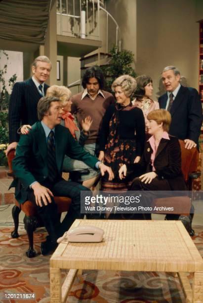 John Lindsay, Geraldo Rivera, Helen A Brown, Jack Anderson, David Hartman, Rona Barrett, Erma Bombeck, Nancy Dussault appearing on the ABC tv series...