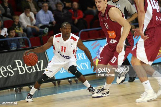 John LINEHAN - - Nancy / Sarajevo - Eurochallenge - Match Retour - Palais des sports Jean Weille,