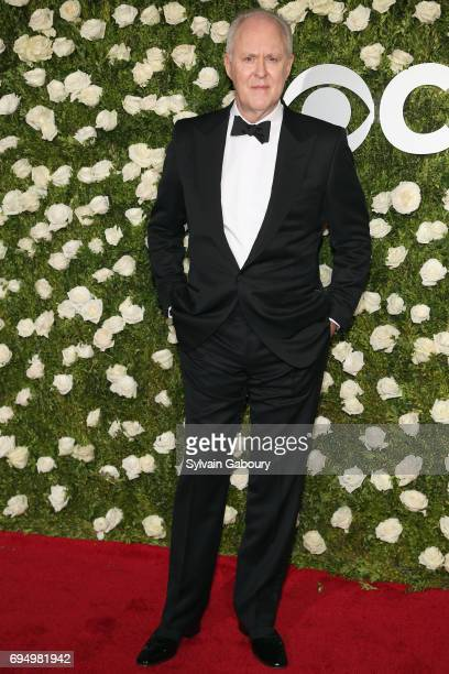 John Lithgow attends the 2017 Tony Awards at Radio City Music Hall on June 11 2017 in New York City