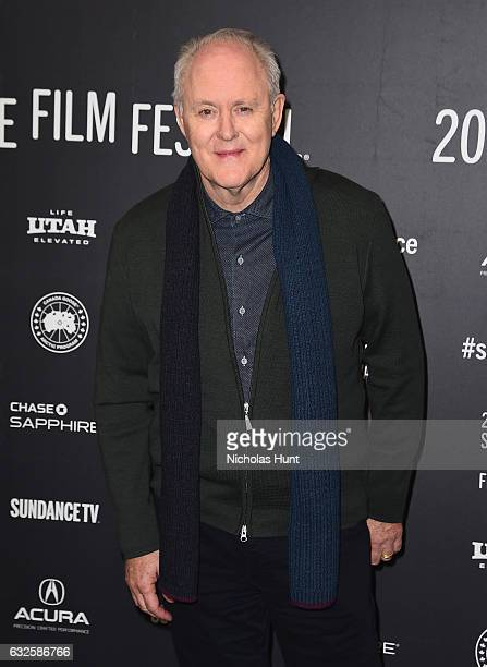 John Lithgow attends the 'Beatriz At Dinner' Premiere at Eccles Center Theatre on January 23 2017 in Park City Utah