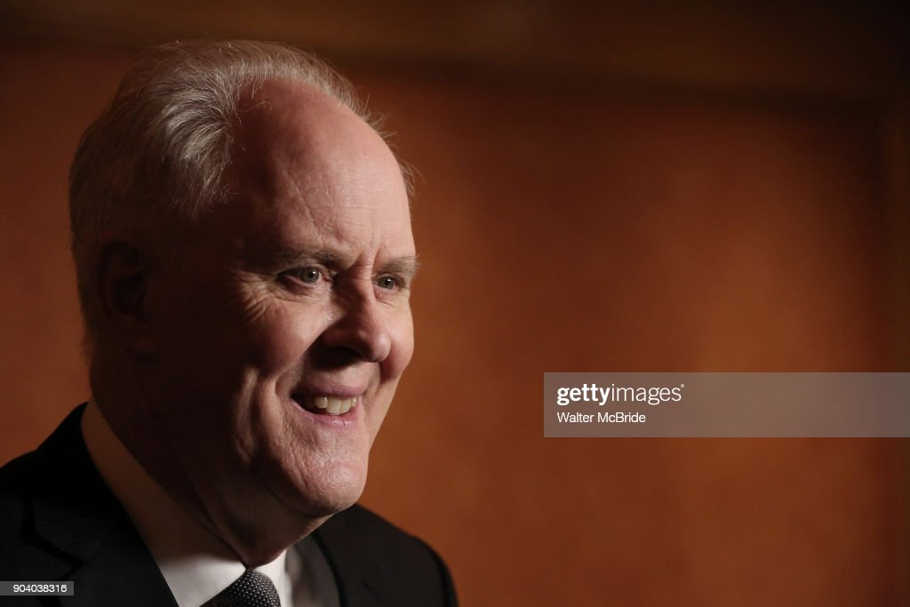 John Lithgow attends the Broadway Opening Night Performance After Party of 'John Lithgow: Stories by Heart' at the American Airlines Theatre on January 11, 2018 in New York City.