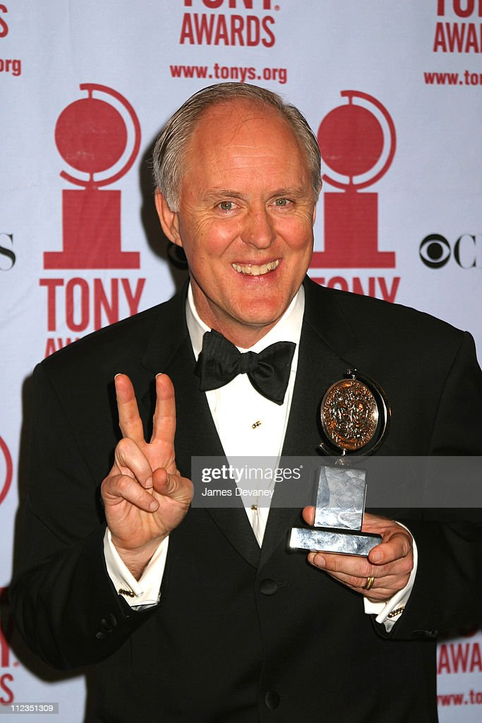 John Lithgow during 56th Annual Tony Awards - Press Room at American Theater at Radio City Music Hall in New York City, New York, United States.