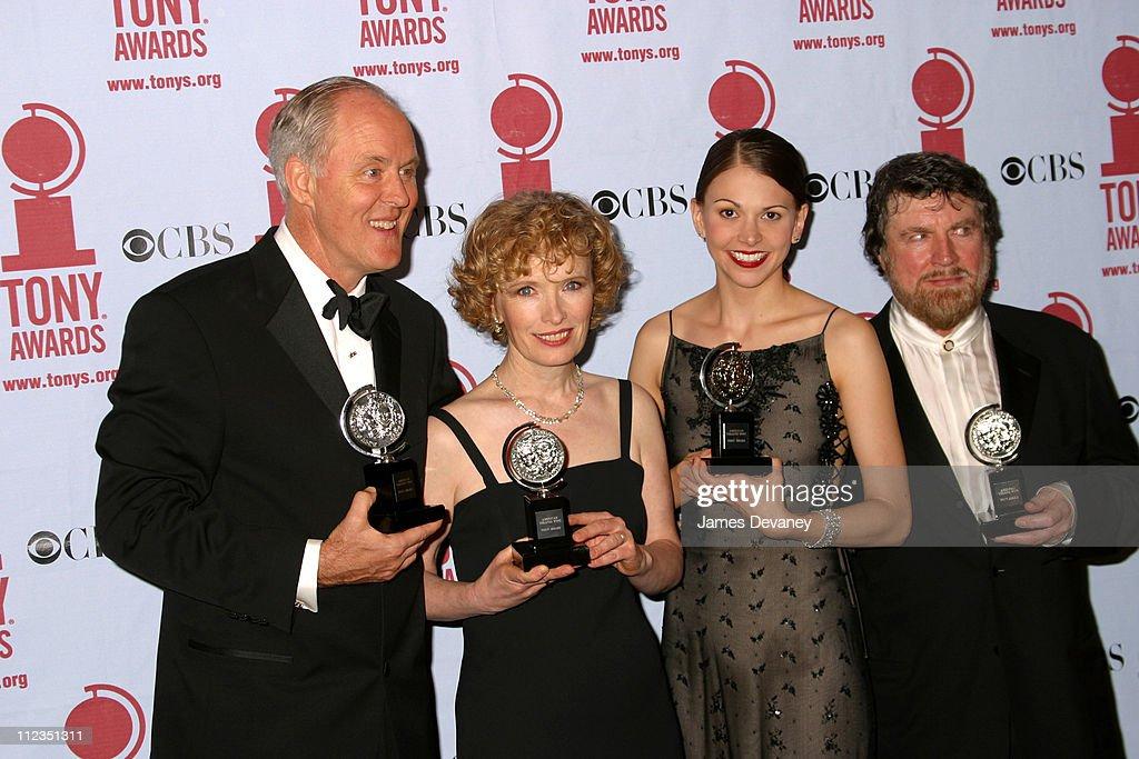 John Lithgow, Lindsay Duncan, Sutton Foster and Alan Bates