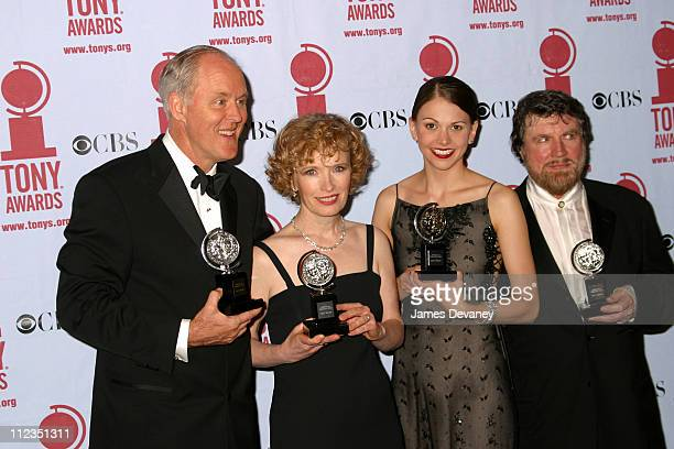 John Lithgow Lindsay Duncan Sutton Foster and Alan Bates