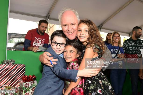 John Lithgow Owen Wilder Vaccaro Scarlett Esteves and Didi Costine attend the premiere of Paramount Pictures' 'Daddy's Home 2' at Regency Village...