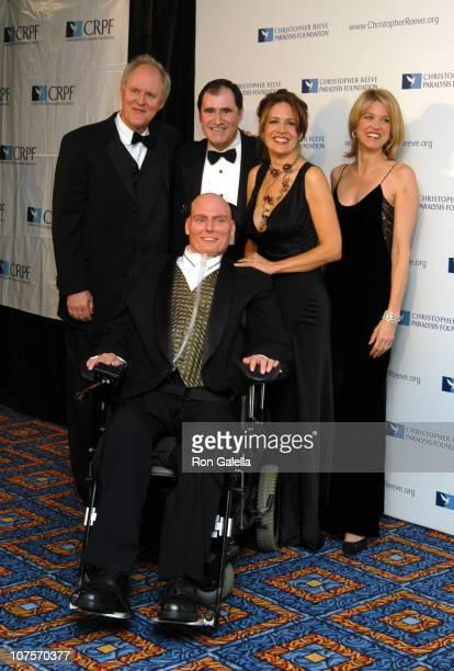 John Lithgow, Richard Kind, Dana Reeve, Paul Zahn and Christopher Reeve
