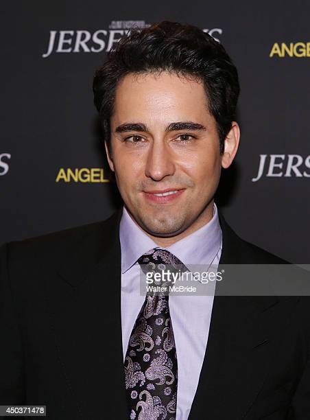 John Lloyd Young attend a special New York screening reception for 'Jersey Boys' hosted by Angelo Galasso at Angelo Galasso on June 2014 in New York...