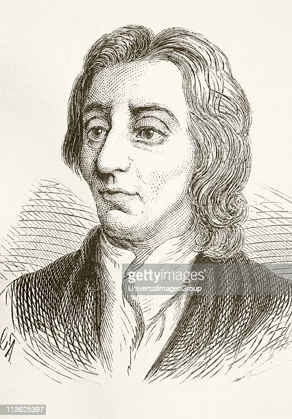 John Locke 1632 to 1704 English philosopher From The National and Domestic History of England by William Aubrey published London circa 1890
