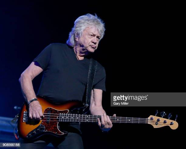 John Lodge of the Moody Blues performs in concert at HEB Center at Cedar Park on January 21 2018 in Cedar Park Texas