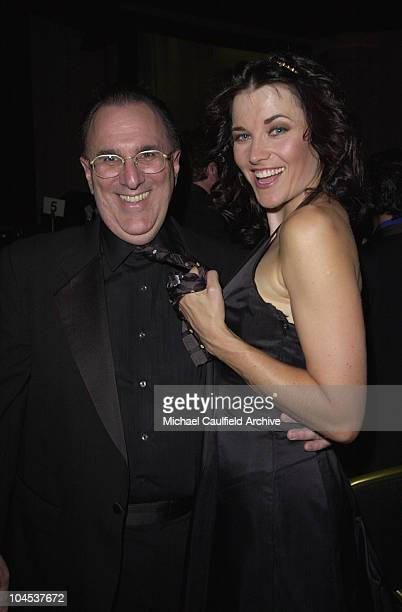 John LoFrumento Lucy Lawless during 2001 Ascap Film Television Music Awards at Beverly Hilton in Beverly Hills California United States