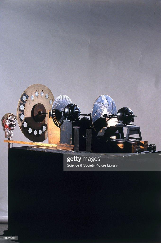 John Logie Baird s mechanical television apparatus was