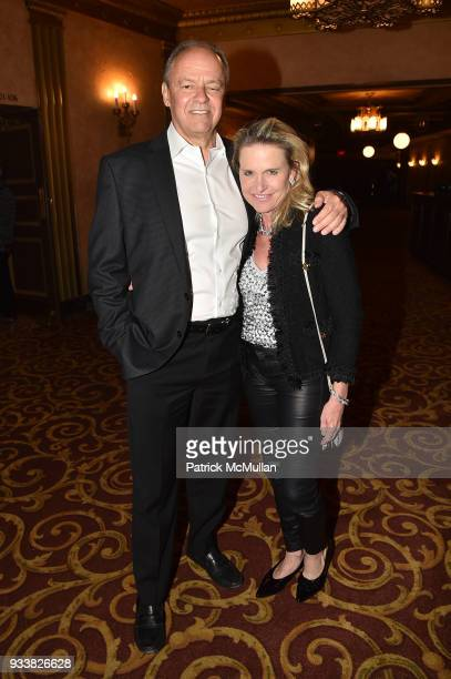 John Lombard and Jennifer Post attend Love Rocks NYC VIP Rehearsal Cocktail at Beacon Theatre on March 14 2018 in New York City John LombardJennifer...