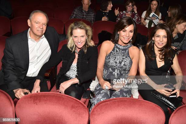 John Lombard Jennifer Post Luann de Lesseps and Angela Bedoya attend Love Rocks NYC VIP Rehearsal Cocktail at Beacon Theatre on March 14 2018 in New...